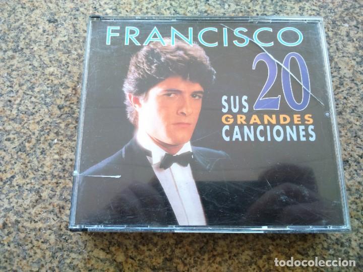 DOBLE CD -- FRANCISCO SUS 20 GRANDES CANCIONES -- (Música - CD's Melódica )