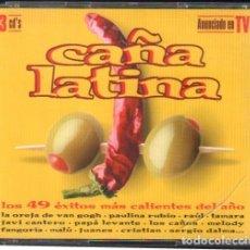 CDs de Musique: CAÑA LATINA - LOS 49 EXITOS MAS CALIENTES DEL AÑO / 3 CD ALBUM / MUY BUEN ESTADO RF-9801. Lote 261924335