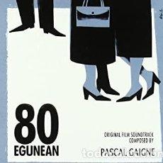 CDs de Música: PASCAL GAIGNE - 80 EGUNEAN. Lote 261938925