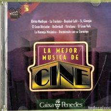 CDs de Música: LA MEJOR MUSICA DE CINE - VOL- 3 - CAIXA PENEDES. Lote 261958430