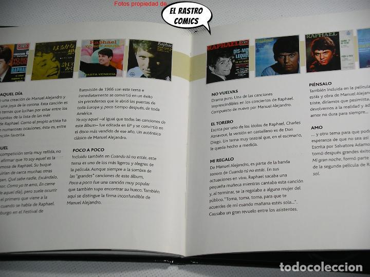 CDs de Música: Todo Raphael, Canta...1966, libro CD, 2012, D2 - Foto 3 - 261961785