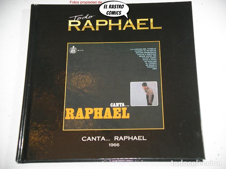TODO RAPHAEL, CANTA...1966, LIBRO CD, 2012, D2 (Música - CD's Melódica )