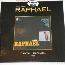 CDs de Música: TODO RAPHAEL, CANTA...1966, LIBRO CD, 2012. Lote 261961785