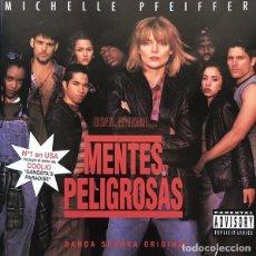 CDs de Música: MENTES PELIGROSAS - BSO. Lote 261963950