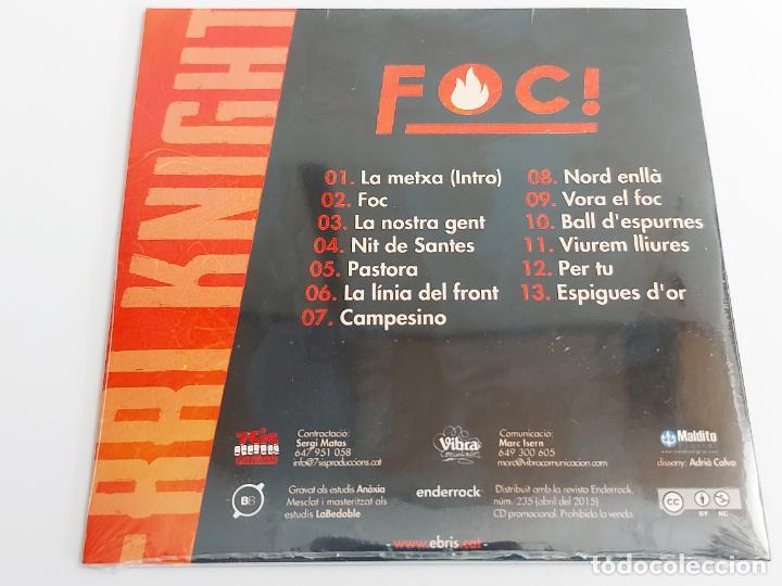 CDs de Música: EBRI KNIGHT / FOC / PROMO CD - EDR-2015 / 13 TEMAS / PRECINTADO. - Foto 2 - 261966870