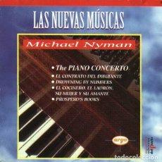 CDs de Música: MICHAEL NYMEN - THE PIANO CONCERTO. Lote 261967670