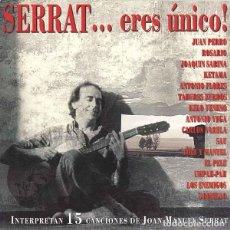 CD di Musica: VARIOS - SERRAT... ERES ÚNICO. Lote 261969165