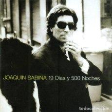 CDs de Música: JOAQUÍN SABINA - 19 DÍAS Y 500 NOCHES. Lote 261969580