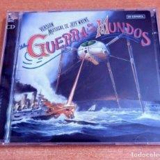 CDs de Música: LA GUERRA DE LOS MUNDOS BANDA SONORA DEL MUSICAL DE JEFF WAYNE EN ESPAÑOL 2 CD 2005 ESPAÑA. Lote 261972755