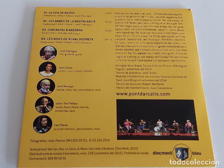 CDs de Música: EL PONT DARCALÍS / LES ARMES DE LA NOSTRA NACIÓ / PROMO CD-EDR-2014 / 4 TEMAS / IMPECABLE. - Foto 2 - 261976365