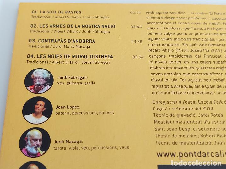 CDs de Música: EL PONT DARCALÍS / LES ARMES DE LA NOSTRA NACIÓ / PROMO CD-EDR-2014 / 4 TEMAS / IMPECABLE. - Foto 3 - 261976365