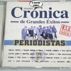 CDs de Música: CRÓNICA DE GRANDES ÉXITOS, DIARIO, SERIE PERIODISTAS, DOBLE, 2 CD, UNIVERSAL, 2000, TV. Lote 261979725