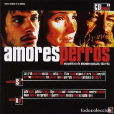 CDs de Música: AMORES PERROS - BSO (2CD). Lote 261979885
