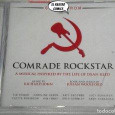 CDs de Música: COMRADE ROCKSTAR, MUSICAL INSPIRED BY THE LIFE OF DEAN READ, CD PRECINTADO, STUDIO CAST 2017. Lote 261984355