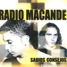 CDs de Música: RADIO MACANDE / SABIOS CONSEJOS (CD SINGLE CARTON PROMO 2003). Lote 262025875