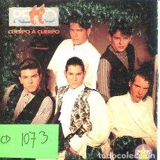 CDs de Música: RETTO / CUERPO A CUERPO (CD SINGLE CARTON 1993). Lote 262026170