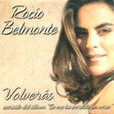 CDs de Música: ROCIO BELMONTE / VOLVERAS (CD SINGLE CARTON PROMO 2000). Lote 262027955