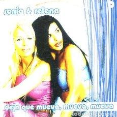 CDs de Música: SONIA & SELENA / DEJA QUE MUEVA, MUEVA, MUEVA (CD SINGLE CARTON PROMO 2001). Lote 262029255