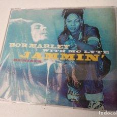 CDs de Música: BOB MARLEY WITH MC LYTE JAMMIN´ REMIXES - 4 - CD SINGLE. Lote 262039515