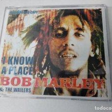 CDs de Música: I KNOW A PLACE + 3 BOB MARLEY CD SINGLE. Lote 262039750