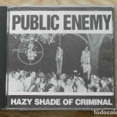 CD de Música: CD PUBLIC ENEMY HAZY SHADE OF CRIMINAL AÑO 1992 THE GOES TO THE RUNNER. Lote 262044790