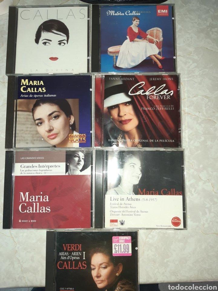 7 CDS MARIA CALLAS (Música - CD's Clásica, Ópera, Zarzuela y Marchas)