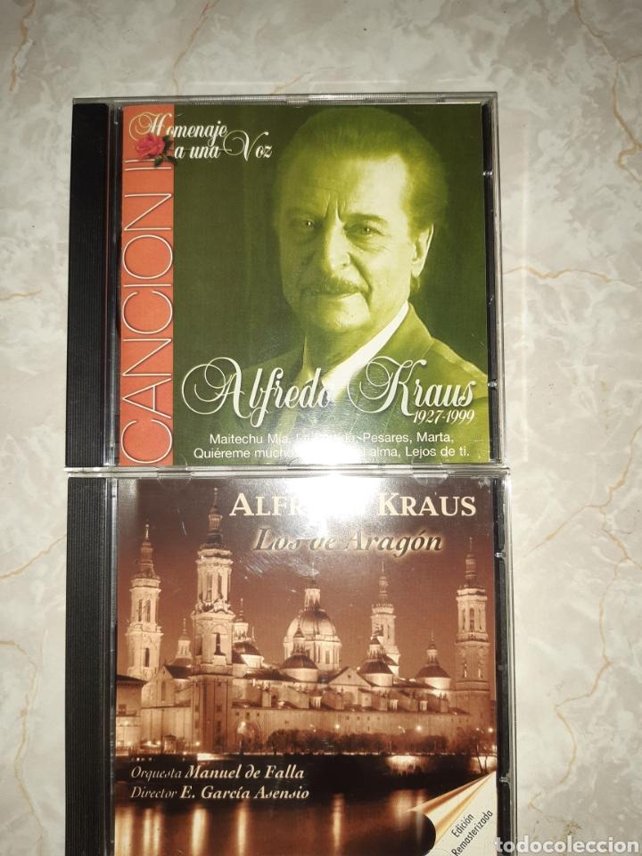CDs de Música: 7 CDs ALFREDO KRAUS 3 DE ELLOS DOBLES - Foto 2 - 262054985