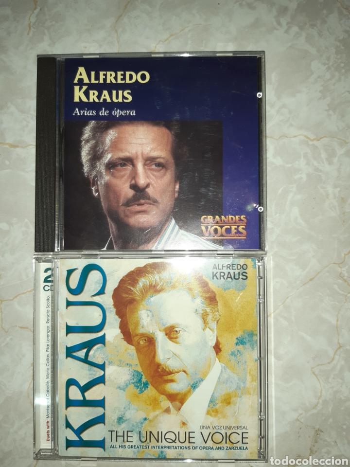 CDs de Música: 7 CDs ALFREDO KRAUS 3 DE ELLOS DOBLES - Foto 3 - 262054985