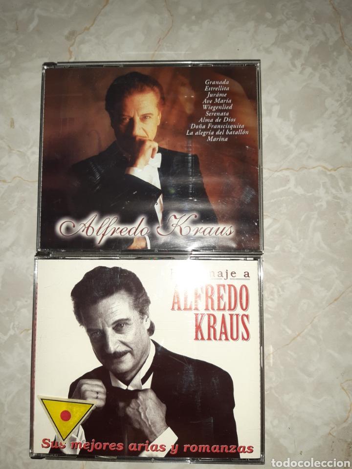 CDs de Música: 7 CDs ALFREDO KRAUS 3 DE ELLOS DOBLES - Foto 4 - 262054985