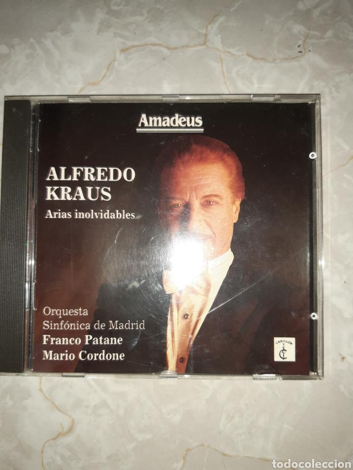 CDs de Música: 7 CDs ALFREDO KRAUS 3 DE ELLOS DOBLES - Foto 6 - 262054985