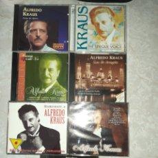 CDs de Música: 7 CDS ALFREDO KRAUS 3 DE ELLOS DOBLES. Lote 262054985