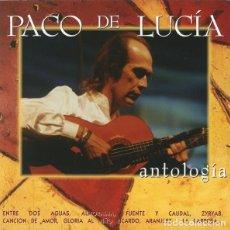 CDs de Música: PACO DE LUCÍA - ANTOLOGÍA (2CD). Lote 262055440