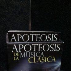 CDs de Música: APOTEOSIS DE LA MÚSICA CLÁSICA - CDS. Lote 262073470