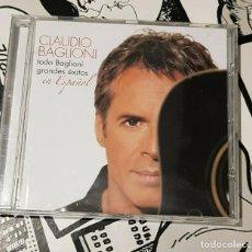CDs de Música: CLAUDIO BAGLIONI-TODO BAGLIONI-GRANDES EXITOS-EN ESPAÑOL-CD. Lote 262076235