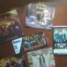 """CDs de Música: MEDINA AZAHARA """" LOTE DE 4 SINGLES Y DOS ENTRADAS """". Lote 262078220"""