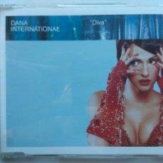 CDs de Música: DANA INTERNACIONAL. DIVA. CD MAXI DANCE POOL 666 148 2. EU 1998. EUROVISIÓN.. Lote 262091790