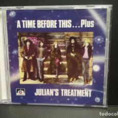 CDs de Música: JULIAN'S TREATMENT A TIME BEFORE THIS……PLUS CD UK 1990 PEPETO TOP. Lote 262125740