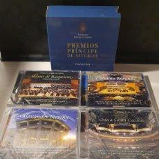 CDs de Música: 5 CD'S PREMIOS PRÍNCIPE DE ASTURIAS/ CONCIERTOS/ 4 CD'S PRECINTADOS Y 1 COMO NUEVO.. Lote 262126390