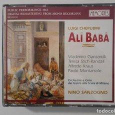 CDs de Música: ALÍ BABÁ. VLADIMIRO GANZAROLLI. TERESA STICH-RANDALL. ALFREDO KRAUS. PAOLO MONTARSOLO. ORCHESTRA E C. Lote 262132585