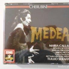 CDs de Música: MEDEA. CHERUBINI. DOBLE COMPACTO EMI. MARIA CALLAS, RENATA SCOTTO, MIRIAM PIRAZZINI, MIRTO PICCHI. C. Lote 262132830