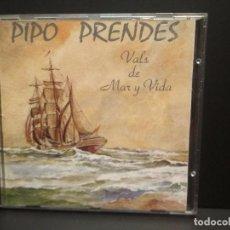 CDs de Música: PIPO PRENDES VALS DE MAR Y VIDA CD ALBUM 1973 ASTURIAS PEPETO. Lote 262133700