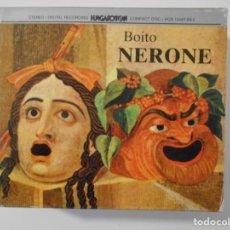 CDs de Música: NERONE. BOITO. TRIPLE COMPACTO HUNGAROTON. JANOS B. NAGY, JOZSEF DENE, LAJOS MILLER... EVE QUELER.. Lote 262134460