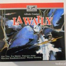 CDs de Música: LA WALLY. ALFREDO CATALANI. DOBLE COMPACTO EURODISC. EVA MARTON, FRANCESCO ELLERO D'ARTEGNA, ALAN TI. Lote 262135060
