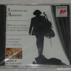 CDs de Música: JUVENTUD EN ARMONIA ORQUESTA ESCUELA REINA SOFIA MENDELSSOHN BOCCHERINI CD ALBUM 1995. Lote 262135155