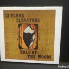 CDs de Música: 13TH FLOOR ELEVATORS - ROCKY ERICKSON - BULL OF THE WOODS - CD/CRTON UK 2011 PEPETO TOP. Lote 262142640