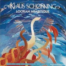 CDs de Música: KLAUS SCHØNNING - LOCRIAN ARABESQUE. CD. Lote 262164705