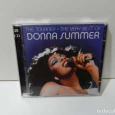 CDs de Música: DISCO 2 X CD. DONNA SUMMER ‎– THE JOURNEY • THE VERY BEST OF DONNA SUMMER. COMPACT DISC.. Lote 262170060