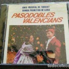 CD di Musica: CD PASODOBLES VALENCIANS - UNIO MUSICAL DE TORRENT - BANDA PRIMITIVA DE LLIRIA - VALENCIA - NUEVO !!. Lote 262146990