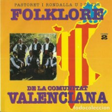 CDs de Musique: CD PASTORET I RONDALLA U I DOTZE - FOLKLORE DE LA COMUNITAT VALENCIANA 2 - DOBLON 96139 - NUEVO !!!*. Lote 262176735