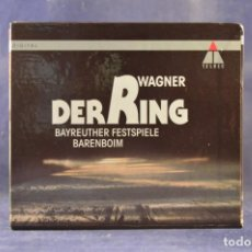 CDs de Música: RICHARD WAGNER / BAYREUTHER FESTSPIELE, BARENBOIM - DER RING - 14 CD. Lote 262193410